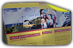 DHL Pop up Banner